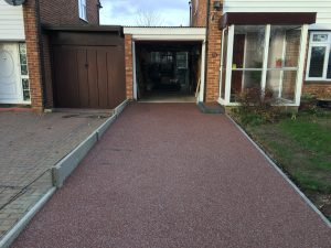 Bedford Project Driveway After