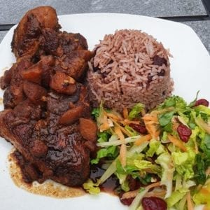 Brow Stew Chicken